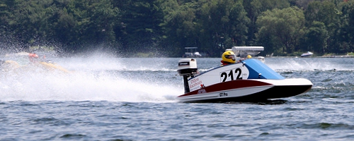 Racing powerboat plans, the Dillon EZ Tunnel