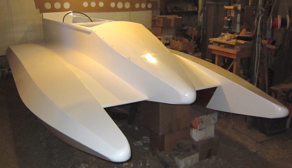 Racing powerboat plans, the Dillon Laker 14 Tunnel Boat