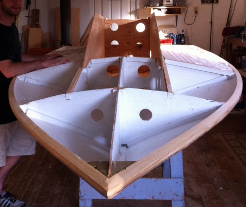 Building A Racing V Bottom Powerboat