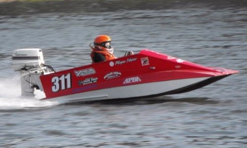 Racing powerboat plans, the Dillon Mini Tunnel