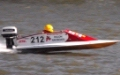 Mini Vee v-bottom raceboat