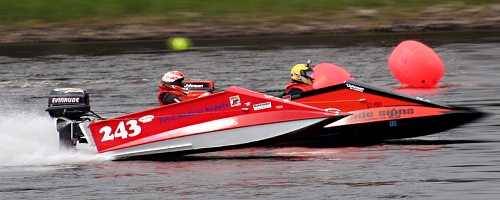 Boat Plans: A Racing/Recreational Tunnel Boat for 15 hp to 30 hp ...