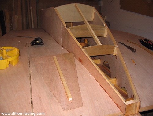 ... -- you could attach the ridge beam to the boat instead, either way